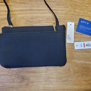 NWT Apt. 9 Crossbody Wallet Purse RFID Blocking